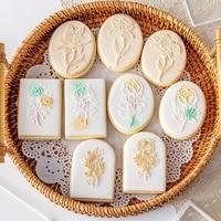 cake decoration tool flower cake cookie press stamp embosser cutter acrylic fondant sugar craft cake cutter baking accessories