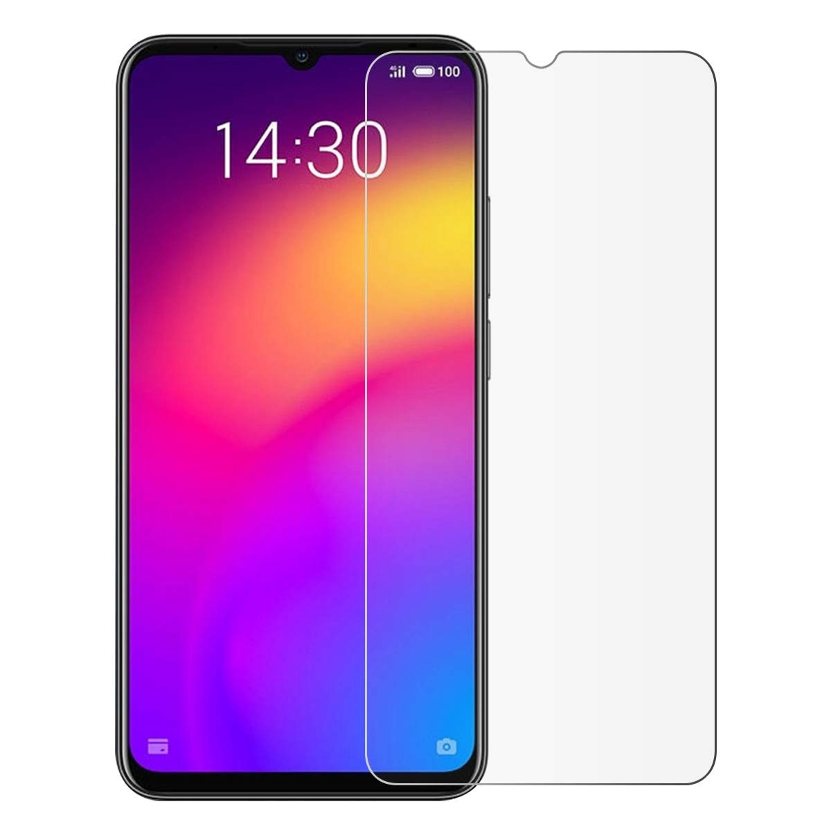 2.5D 9H Tempered Glass for Meizu Note 9 Screen Protector On The For Meizu Note9 Protective Film Glas