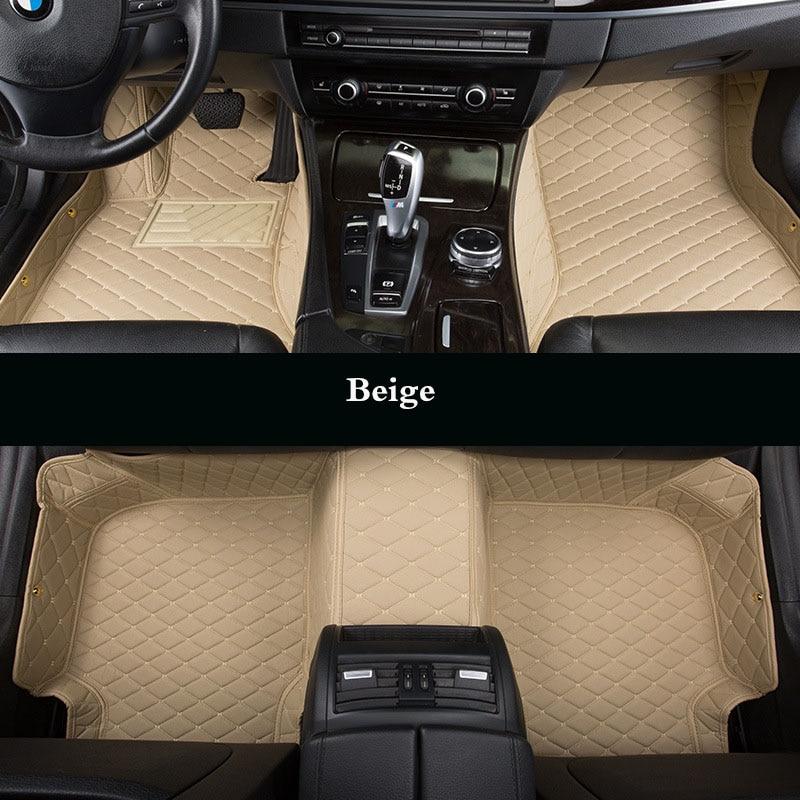Custom Car Floor Mats for Chevrolet Captiva Sonic Sail Spark Blazer epica Camaro Equinox Cavalier Trax Aveo Cruze enlarge
