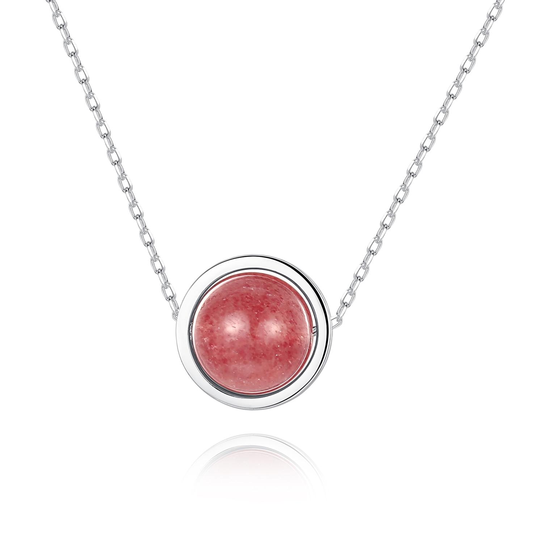 Ювелирные-изделия-из-серебра-100-925-пробы-ювелирные-изделия-ожерелье-с-клубничным-кварцевым-камнем