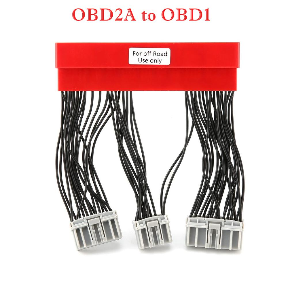 El más nuevo arnés OBD2A a OBD1 o OBD2B a OBD1 para vehículo de coche reemplazar puente ECU conversión cableado arnés para Honda para Civic