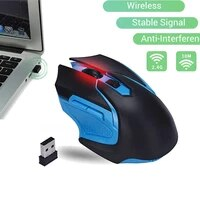 professional 2 4ghz wireless optical gaming mouse wireless mice for pc gaming laptops computer mouse gamer with usb adapter