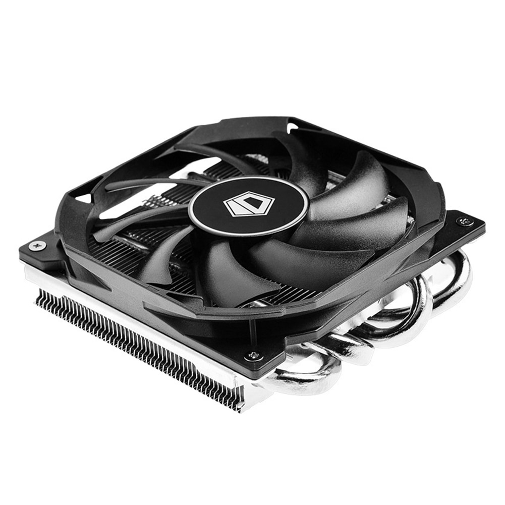 IS-30 CPU Cooler with Quiet PWM Cooling Fan Radiator fan 30mm Low Profile CPU Cooler for ITX A4 Sase Slim Chassis AM4 Intel LGA