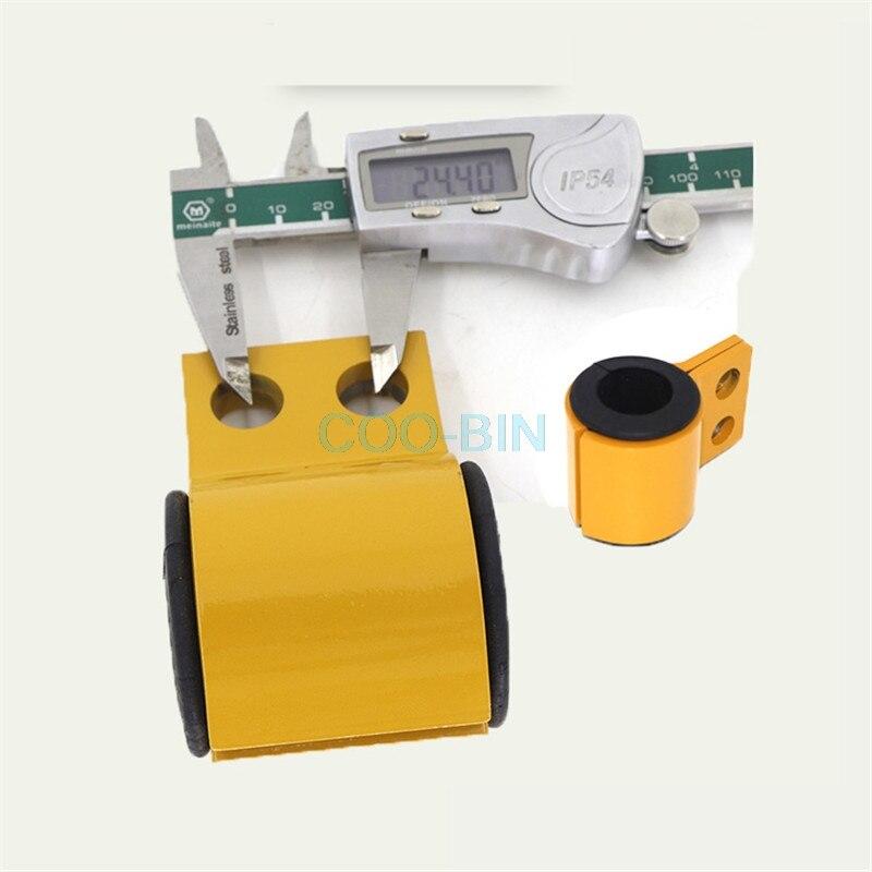 Para SANY SY SY205 215 225 235C-8-9 excavadora boom pipe clamp clip Abrazadera para tubo de hierro goma manga excavadora partes