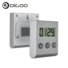 DIGOO DG-AT9001 Digital Kitchen Timer LCD Display Countdown Timer with Stand For Home Cooking Baking
