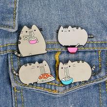 1 pièces/ensemble japonais Anime Miyazaki Hayao Kawaii dessin animé mon voisin Totoro broches broches fille jean sac décoration pour ami