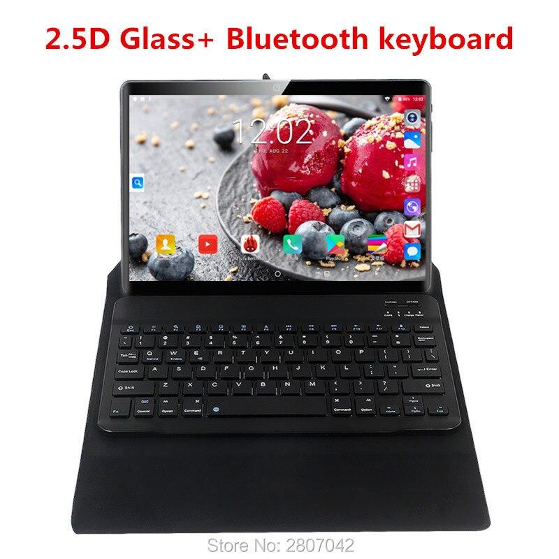Mundial de 2019 versión Android 9,0 OS 10 pulgadas tablet Octa Core 6GB RAM 128GB ROM 1280*800 Dual SIM tarjetas Tablet 10,1 2.5D