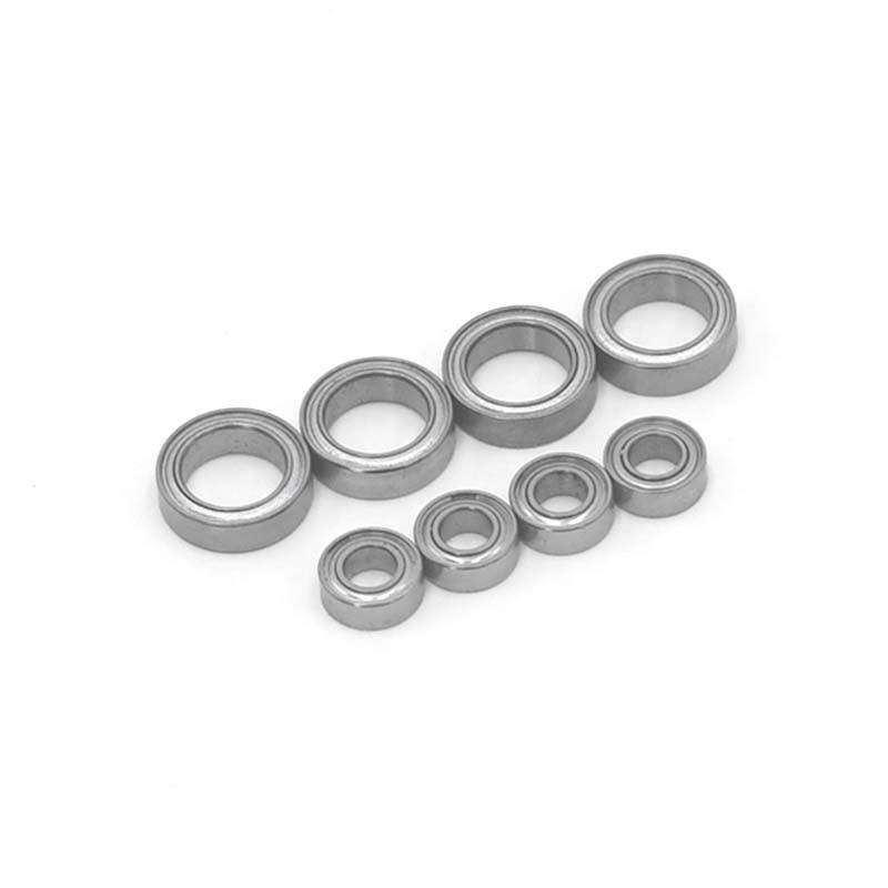 8Pcs Ball Bearings 4X8X3mm 8X12X3.5mm for HSP Himoto E18 WLtoys 1/18 RC Car Spare Parts A949 A959 A969 A979 A959-B A949-33 A949-
