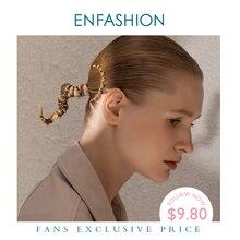 여자 액세서리에 대 한 ENFASHION 공 머리 핀 머리에 골드 컬러 스틱 핀 클립 패션 헤어 쥬얼리 여자 친구 선물 E1098