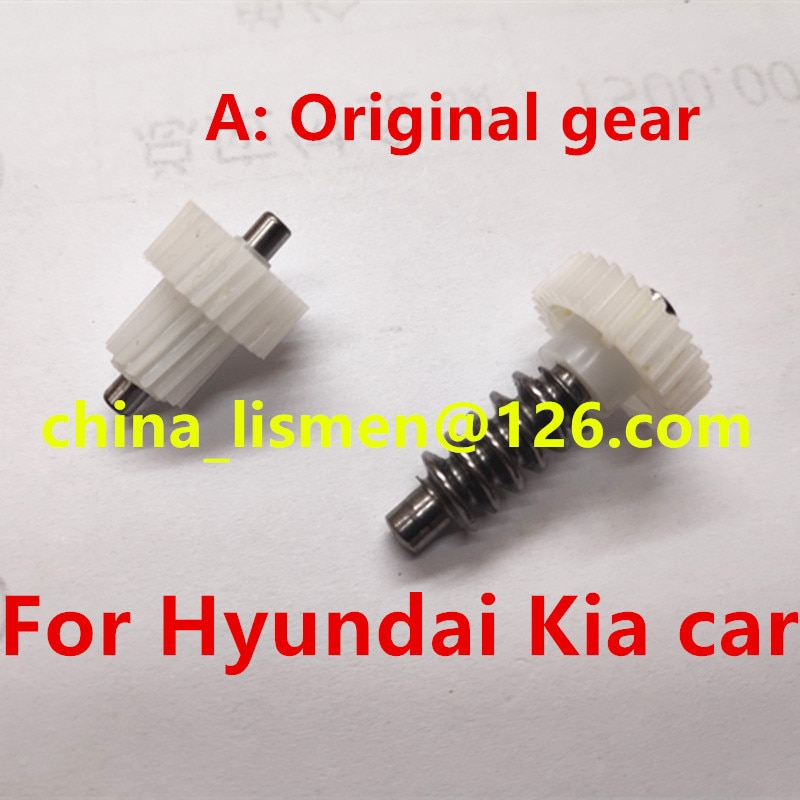 Productos de calidad 1 pieza 30 dientes espejo retrovisor para moto engranaje de plástico para Hyundai Tucson Kia Opirus Villa Coche