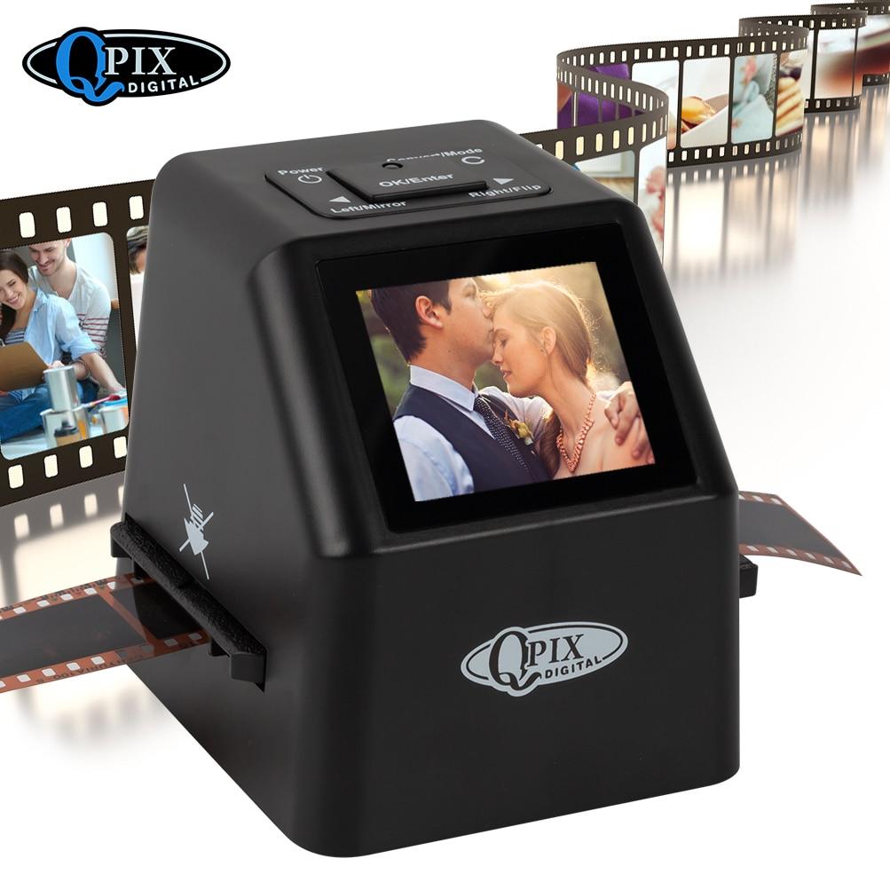 Escáner de deslizamiento de película Digital portátil, convertidor de 35mm, 135, 110,...