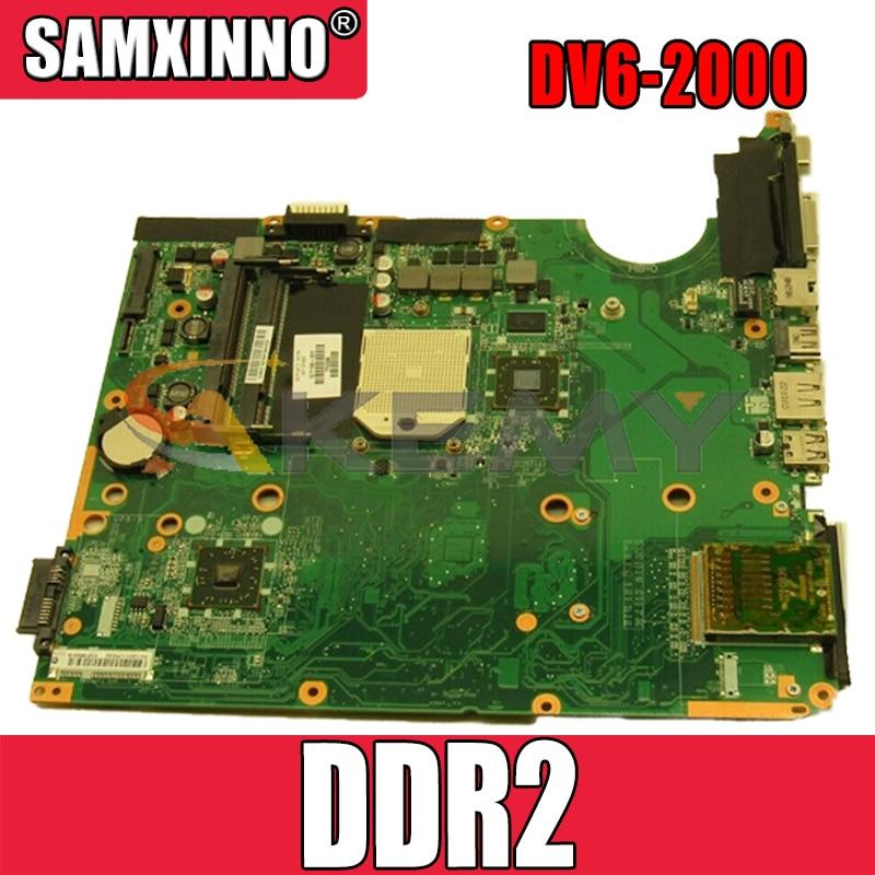 AKemy لوحة الأم للكمبيوتر المحمول HP بافيليون DV6-2000 اللوحة الرئيسية 571186-001 DA0UT1MB6E0 AMD DDR2