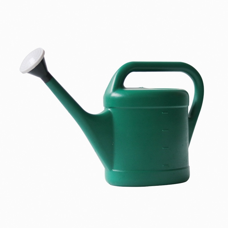 Gardening Watering Can Plastic Capacity with Long Nozzle Watering Pot for Balcony Vegetable Planting Flower Sprinkling
