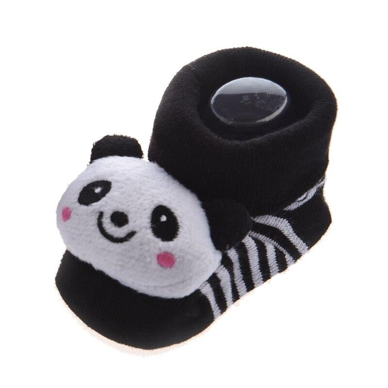 Panda-irresistiblemente lindo bebé niño niña 3D Bootie calcetines Anti/antideslizante 0-12 meses