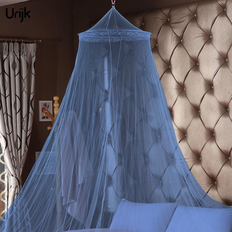 1pc romântico pendurado net cama princesa estudantes redondos para o quarto circular casa cortina Mosquiteiro    -