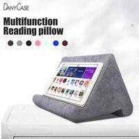 Подставка для планшета с губчатой подушкой, держатель для телефона, постельное белье, настольный держатель для чтения для iPad Samsung Huawei Xiaomi