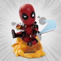 beast kingdom marvel genuine authorization deadpool mini egg attack series garage garage kits model kits collecting gift toys