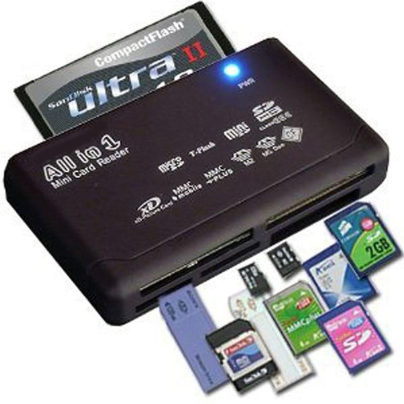 All-In-One bellek kart okuyucu için USB harici Mini SDHC M2 MMC XD CF
