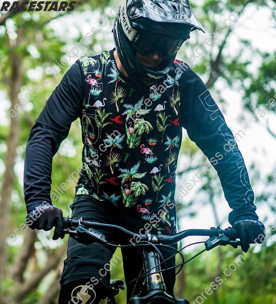Jersey para descensos camiseta de Motocross Enduro Spxcel MTB MX Ciclismo montaña...