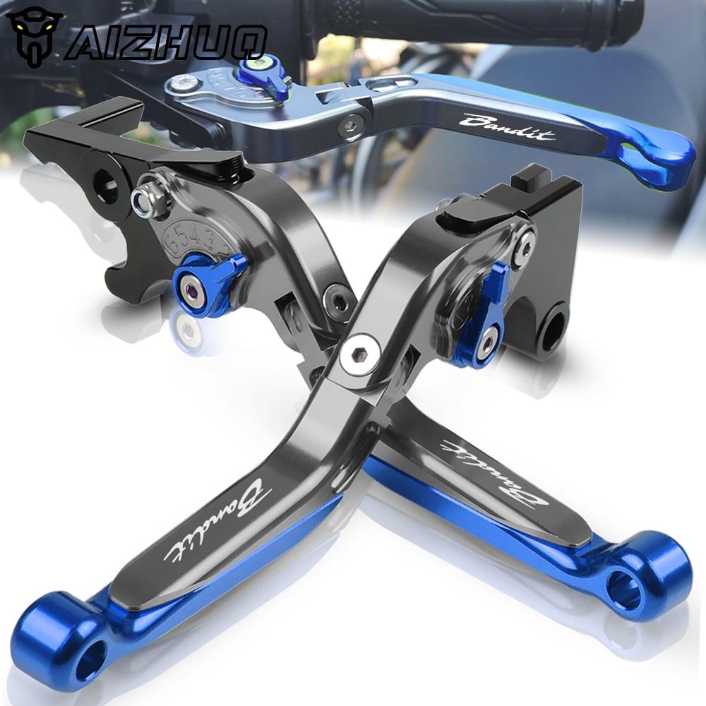 Для Suzuki GSF 650 1200 1250 бандит мотоциклетный тормозной рычаг сцепления алюминиевые выдвижные регулируемые складные рычаги