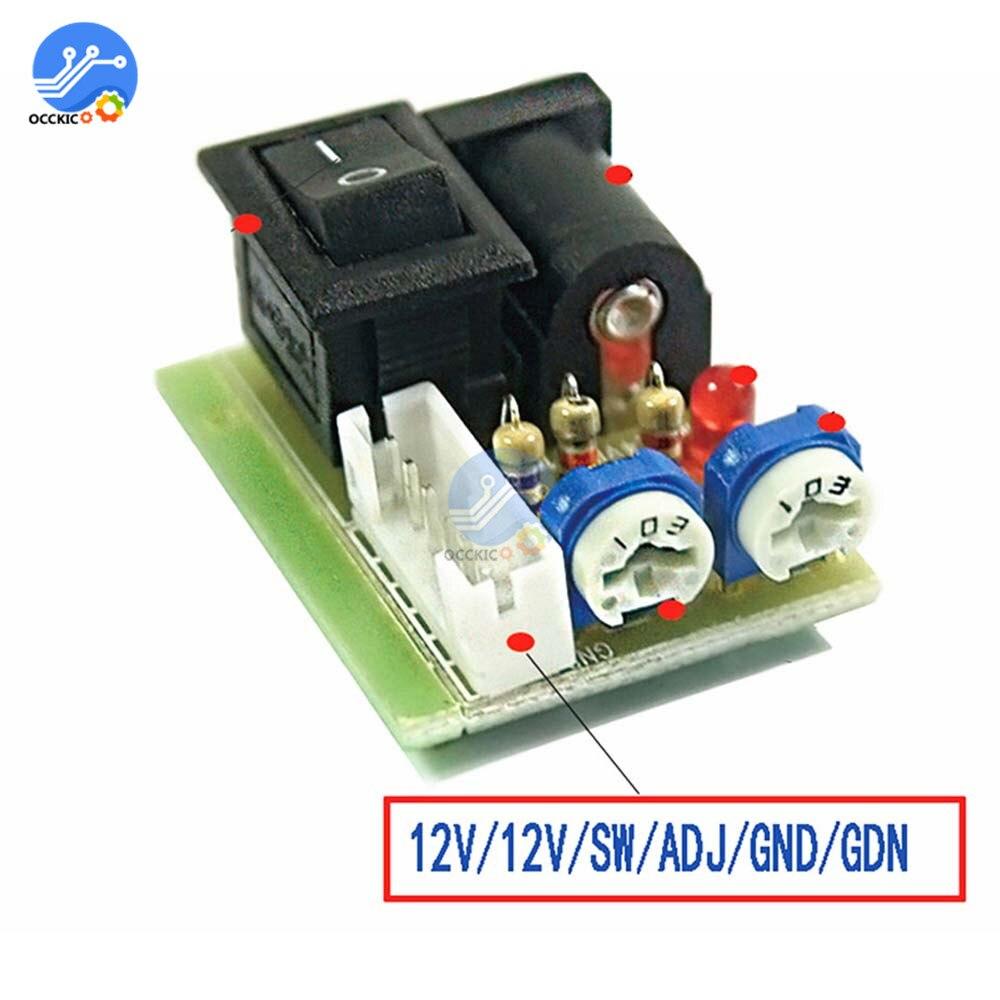 Мини-тестер инвертора CCFL, ЖК-телевизор, экран для ноутбука, ремонт, подсветка лампы, 12 В, тугл-переключатель, ЖК-инвертор, ЖК-трубка
