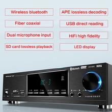 700W 5,1 High-power Home Power Verstärker Bluetooth Subwoofer Karaoke Lautsprecher HiFi Fieber Verstärker Fiber Coaxial APE Verlustfreie