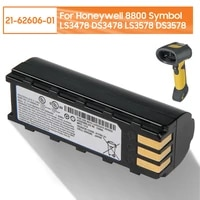 original replacement battery 21 62606 01 for honeywell 8800 symbol ls3478 ds3478 ls3578 ds3578 authentic battery 2200mah