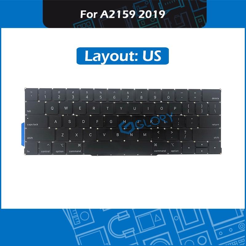 """Nieuwe Laptop Vervanging Toetsenbord US standaard Voor Macbook Pro Retina 13 """"A2159 Toetsenbord 2019 EMC 3301"""
