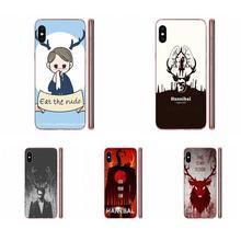 Soft Shell Cases Eat The Rude Hannibal Nbc For Xiaomi Redmi Mi 4 7A 9T K20 CC9 CC9e Note 7 8 9 Y3 SE Pro Prime Go Play