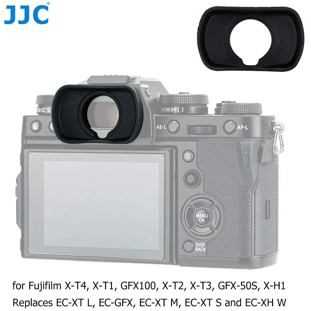 JJC EC-XT L M S Eyepiece Eyecup Viewfinder Eye Cup for Fuji Fujifilm X-T4 X-T3 X-T2 X-T1 XT4 XT3 XT2 XT1 X-H1 XH1 GFX100 GFX 50S