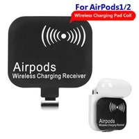 ultra thin wireless charging receiver pad coil suitable for airpods 1 2 patch imported fast charging ti chip