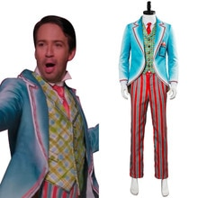 Film Mary Poppins cosplay Costumes noël mature adulte hommes fête Hallowmas jeu anime film fête agir comme uniforme