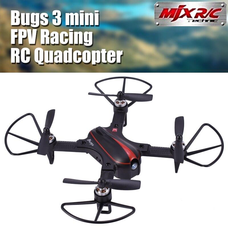 MJX Bugs 3 mini B3 175mm Mini RC Drone RTF Brushless FPV Racing Quadcopter 2750KV Motor 4CH Transmitter 6-axis Gyro