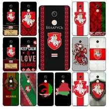 YNDFCNB Беларуси чехол для телефона с изображением флага случай для RedMi Примечание 4 5 7 8 9 pro 8T 5A 4X чехол