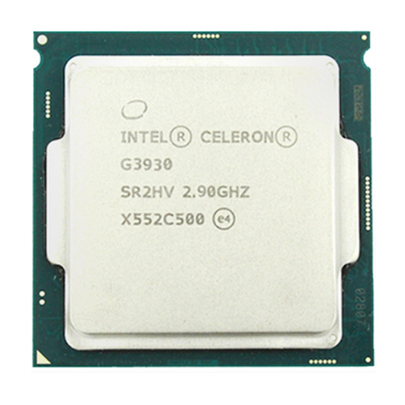 Intel  G3930 g3930 CPU 2.9G 51W 2 Cores 2 Threads 1151 14NM HD610 DDR4 Desktop PC cpu