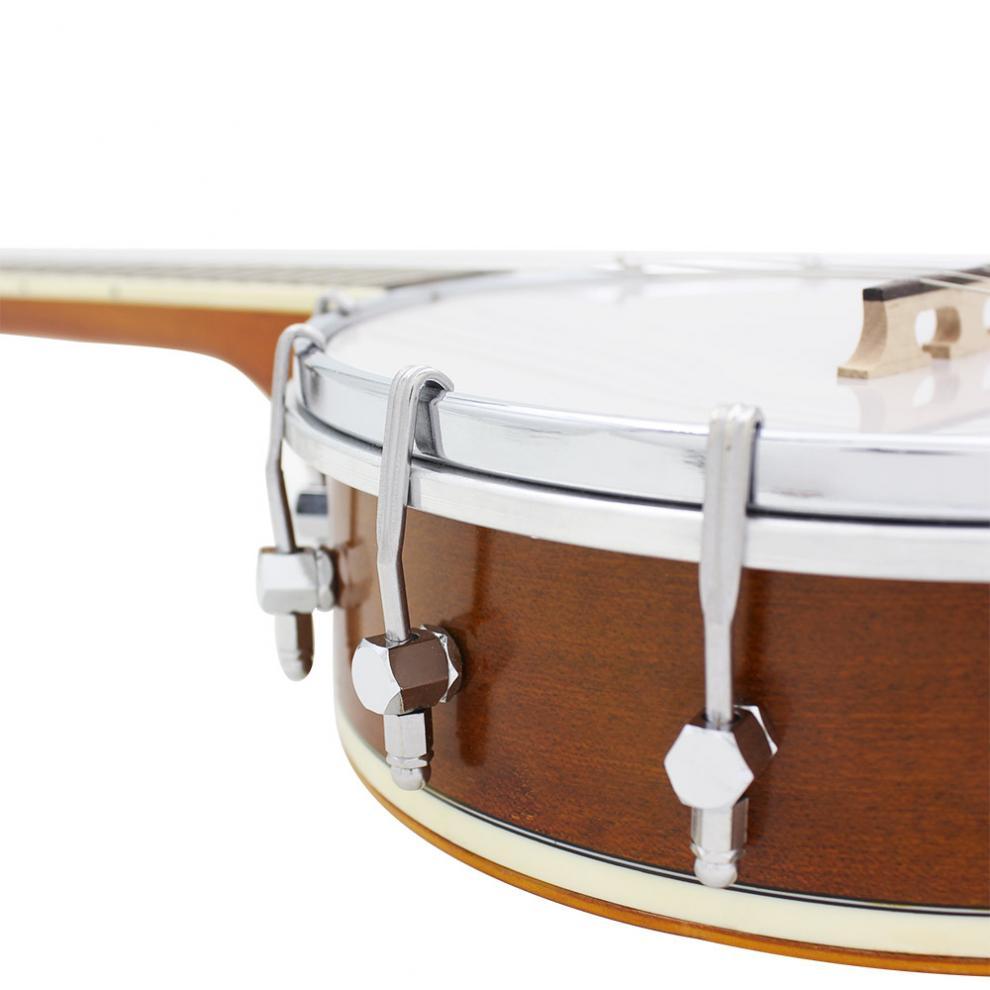 Banjo Ukulele 4 Strings Banjo Ukulele Sapele Wood Traditional Western Concert Bass Guitar for Musical Stringed Instruments enlarge