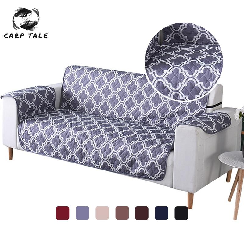غطاء قابل للانزلاق للأريكة والكرسي بذراعين ، مقاوم للماء ، غير قابل للانزلاق ، يحمي من الكلاب والقطط والأطفال ، 1/2/3 مقاعد