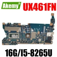 ux461fn motherboard for asus ux461fn ux461f laptop mainboard mainboard tested w v2g gpu 16gi5 8265u