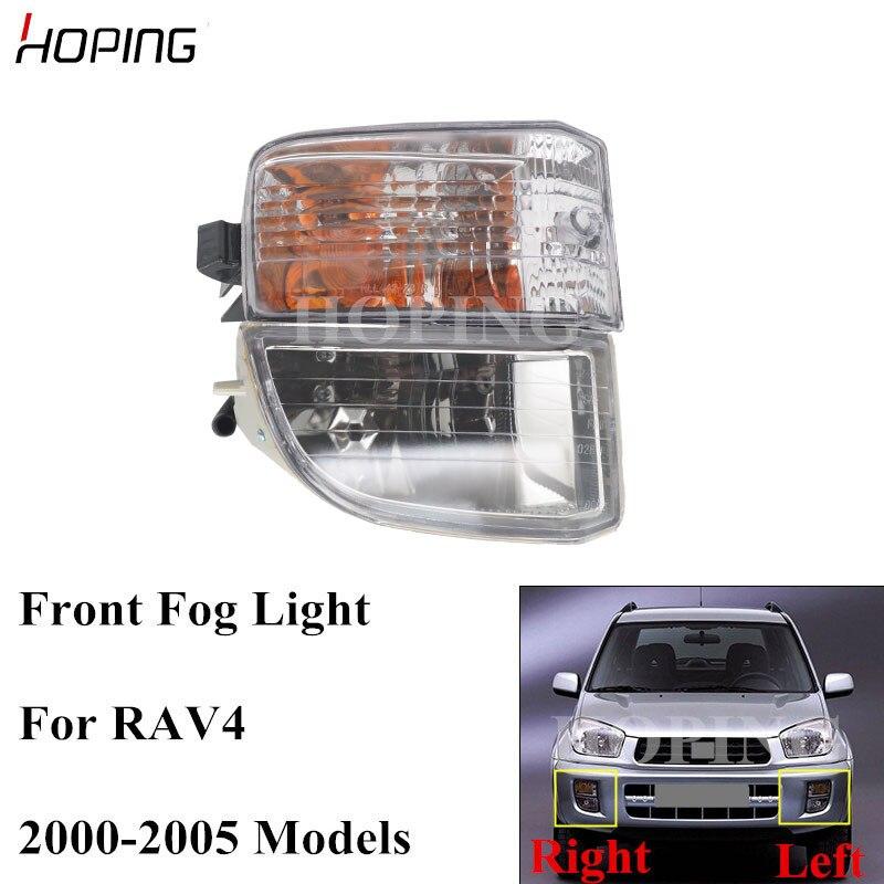 Esperando carro amortecedor dianteiro nevoeiro luz de nevoeiro lâmpada para toyota rav4 2000 2001 2002 2003 2004 2005