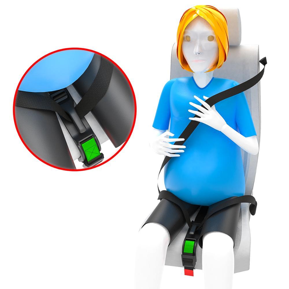 Cinturón de seguridad para embarazo accesorios de coche cinturón de seguridad para embarazadas Ajuste de cinturón de seguridad c