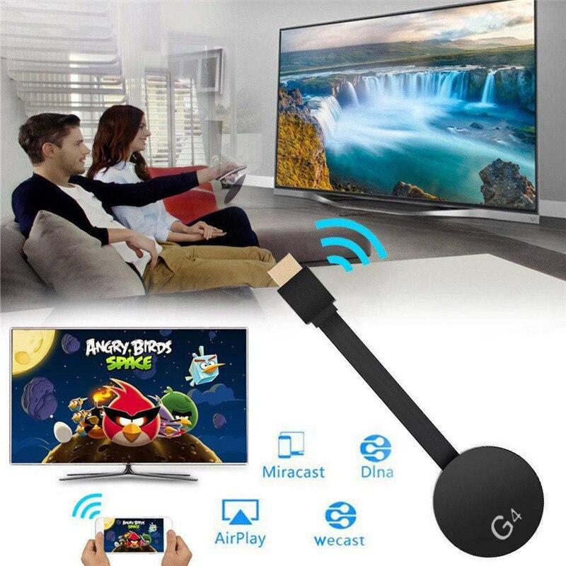 Para Chromecast 4rd generación HD 1080P HD WIFI Dongle con Miracast Airplay HDMI Digital Media Video Streamer Player