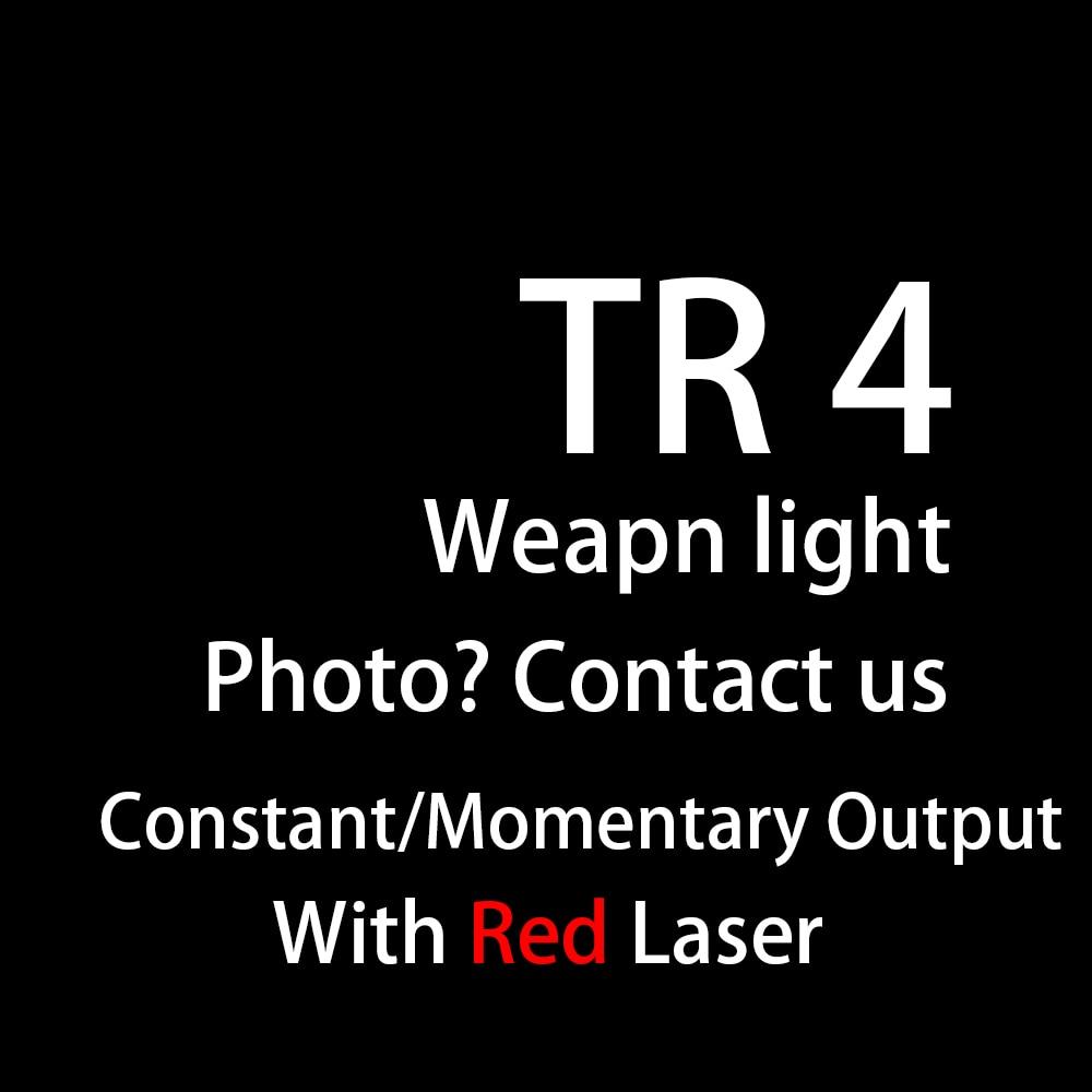 Tactical HK USP Compact TLR Luz Arma Com Mira Laser Vermelho Para Glock Quase 1911 CZ 2 4 Lanterna A Laser
