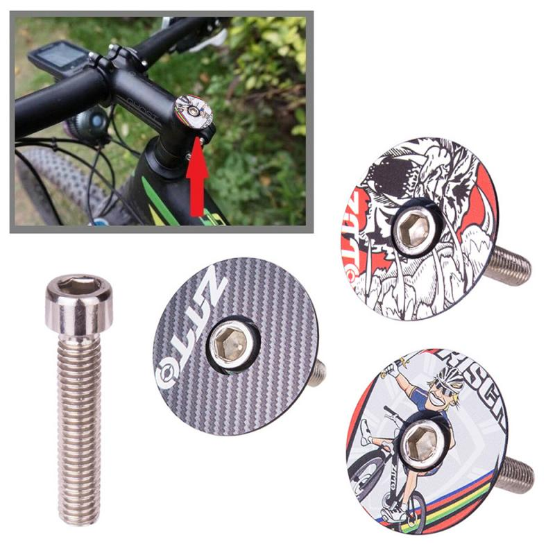 "ZTTO de bicicleta madre tapa auriculares cubierta con tornillos perno a 28,6mm 1 1/8 ""de la horquilla delantera tubo de cabeza gran oferta 2020"
