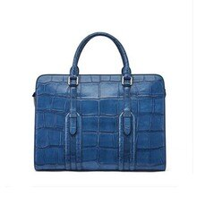gete crocodile leather business handbag man large capacity multi-functional briefcase fashion simple combination lock men bag