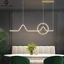 Moderne LED lustre éclairage intérieur lumières pour salle à manger cuisine salon chambre décor suspendu éclairage lustres lampe