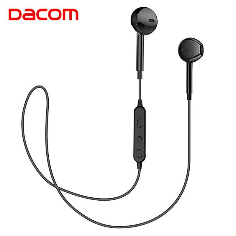 Dacom g03t v5.0 bluetooth fones de ouvido sem fio microfone estéreo esportes fone para iphone samsung