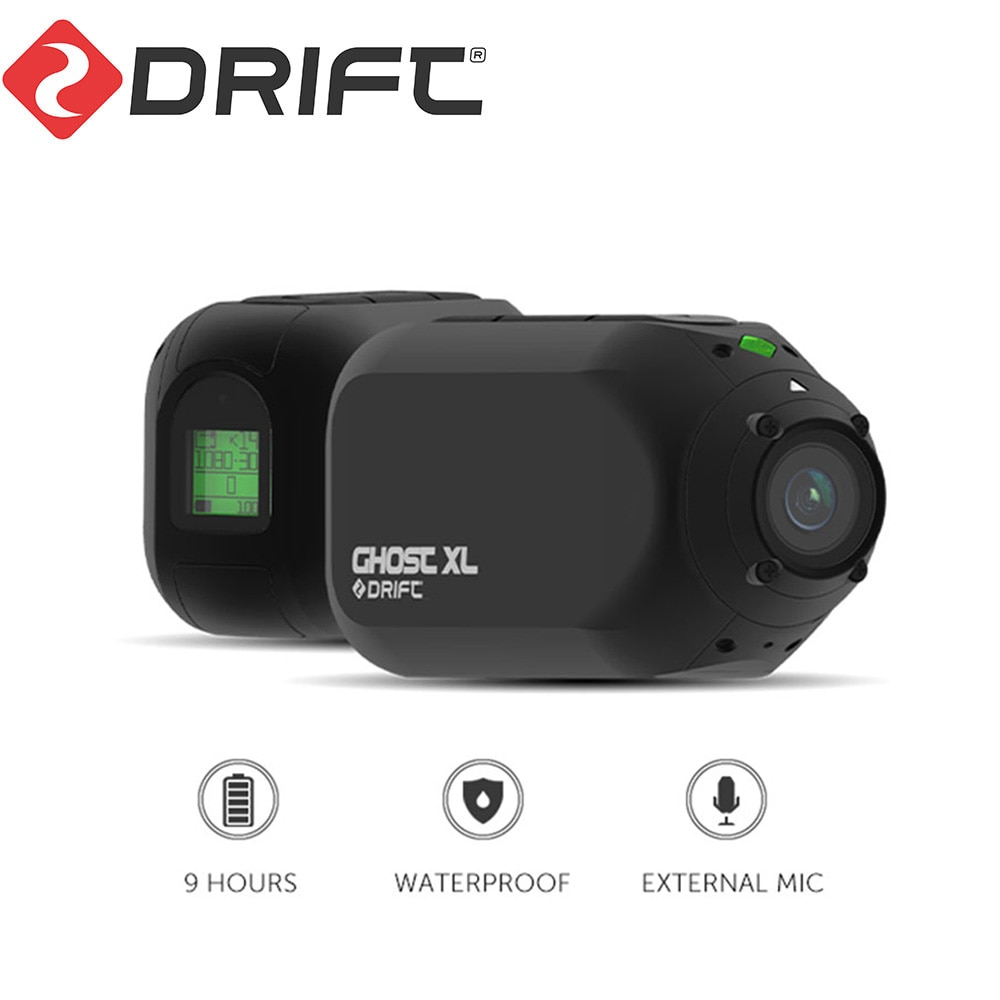 Drift Ghost XL Action Camera Sport 1080P WiFi Underwater Sports Cam Ambarella Chip Motorcycle Bike Bicycle Helmet Camcorder