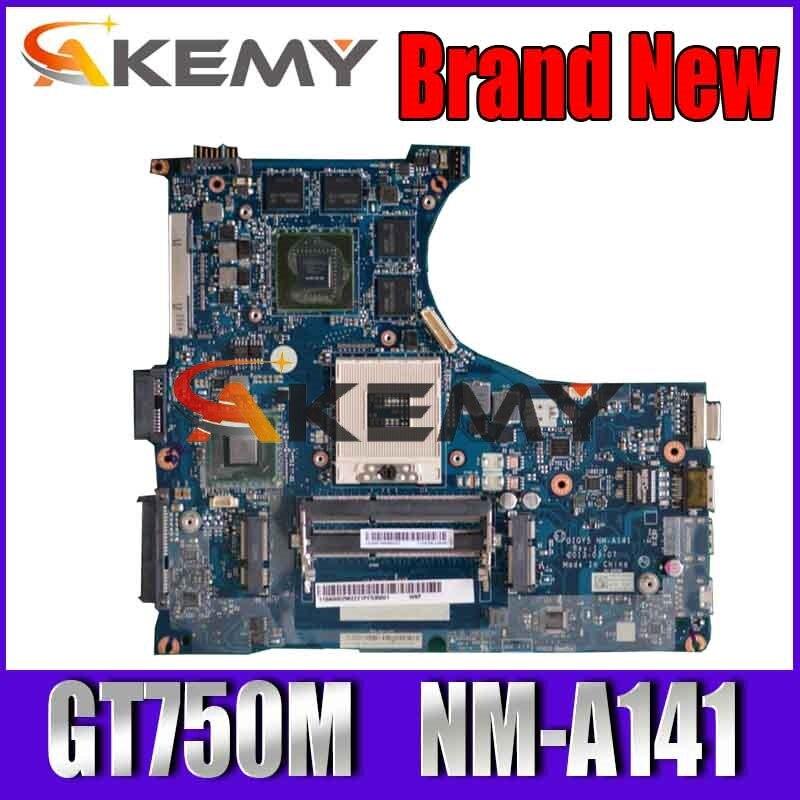 لينوفو Y400 اللوحة الأم 900002563 QIQY5 NM-A141 GT750M GPU HM76 اللوحة الرئيسية 100% اختبار سريع السفينة