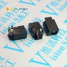 10 Uds DC-023 4,0mm x 1,7mm negro DC Power Jack conector hembra DC023 * 4,0*1,7mm x 4,0 1,7x1,7mm aguja DC hembra Jack DC023 caliente