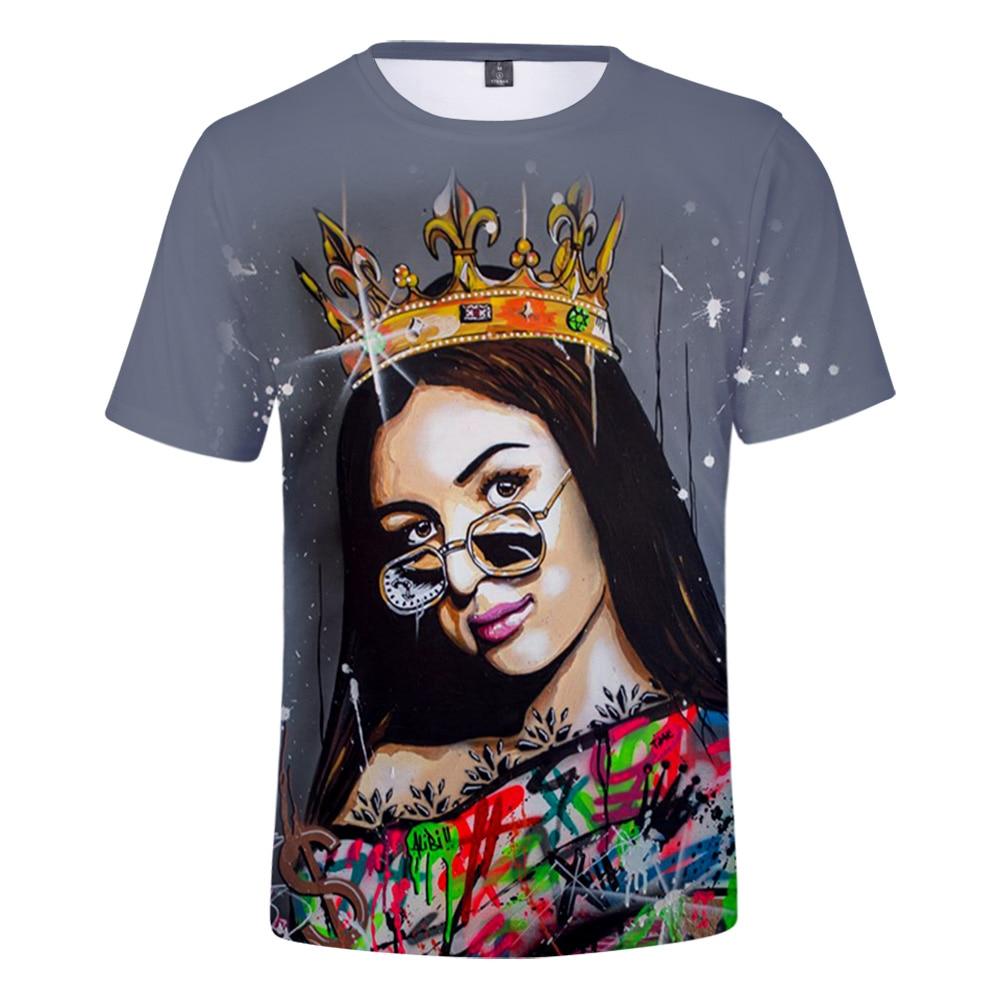 Verano Eva Queen camiseta 3D manga corta hombres y mujeres Eva camiseta de Reina 2020 nueva moda Casual Cosplay Tops